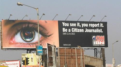 Sobre el periodismo ciudadano