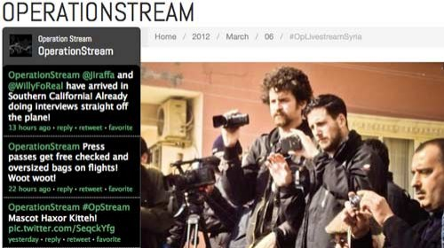 Crowdfunding para financiar un Periodismo Ciudadano Independiente #OpLivestreamSyria