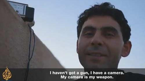 Las cámaras se convierten en el arma más temida de la revueltas sirias en un documental