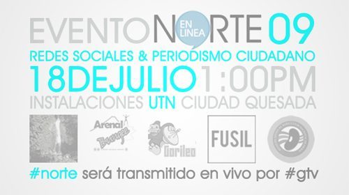 Evento Nortenlinea 2009: Redes Sociales y Periodismo Ciudadano en Costa Rica