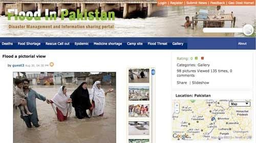Inundaciones en Pakistán y periodismo ciudadano