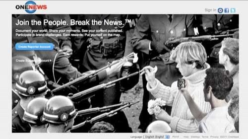 """One News: """"Los ciudadanos del mundo son los nuevos medios de comunicación"""""""