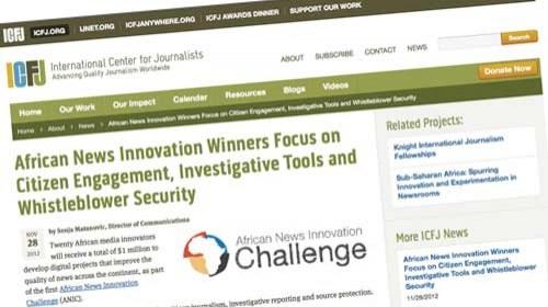 African News Innovation Challenge: 1 millón de $ para los proyectos periodísticos más innovadores de África