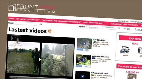Frontview Report, una plataforma para la información solidaria