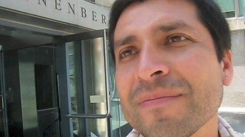Gabriel Berríos, organizador de la conferencia Voces Inmigantes Latinas. ¿Periodismo ciudadano, o comunitario?