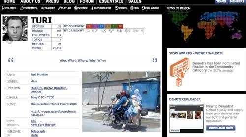 Demotix: 14.000 reporteros ciudadanos en 110 países