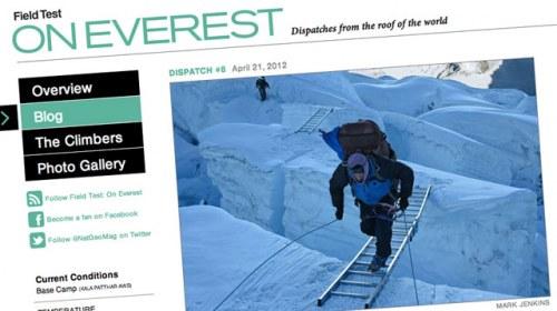 """Field Test: On Everest"", desde el Himalaya en directo con National Geographic"