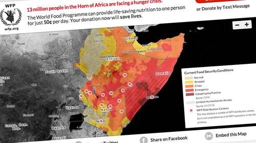 Visualizando el hambre en el Cuerno de África