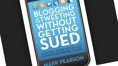 """""""Blogueando y Tuiteando sin ser demandado: una guía legal para cualquier persona que escriba en la Red"""""""