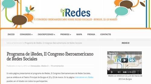 Redes sociales y participación ciudadana a debate en iRedes 2012