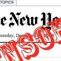 La censura al New York Times en China, corroborada vía Twitter