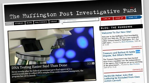 The Huffington Post Investigative Fund, periodismo de investigación independiente y open-source