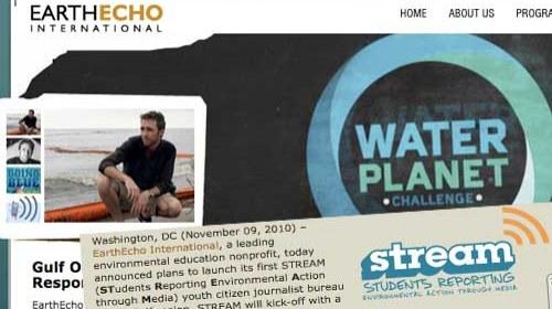"""Philippe Cousteau y """"STREAM"""": Periodismo ciudadano medioambiental"""