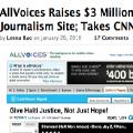 AllVoices recauda 3 millones de dólares con su web de periodismo ciudadano
