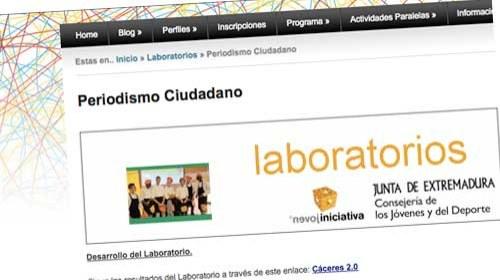 Laboratorio de Periodismo Ciudadano: Ciudades Creativas en la Sociedad de la Imaginación