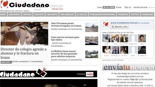 """Entrevista con """"Ciudadano"""": Periodismo de vecino a vecino desde Perú"""