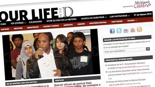 """""""Our Life in the D"""": periodismo ciudadano desde las escuelas de Detroit"""