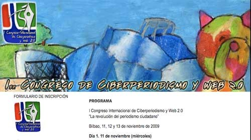 """I Congreso Internacional de Ciberperiodismo y Web 2.0: """"La revolución del periodismo ciudadano"""""""