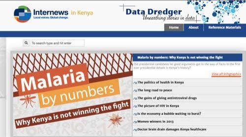 Data Dredger: periodismo de datos para mejorar la salud en Kenia