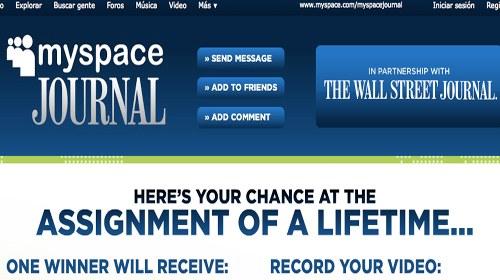 MySpace y el Wall Street Journal buscan periodistas ciudadanos para cubrir el Foro de Davos