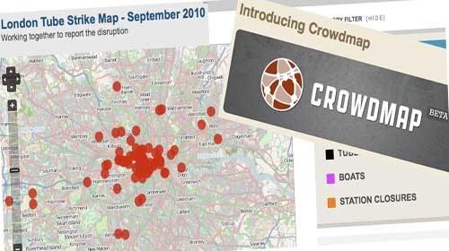 """La BBC y el """"Crowdmap"""" de Ushahidi: Información dinámica y participación"""