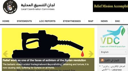 """Los periodistas ciudadanos sirios reciben el """"Premio ciberciudadano"""" de RSF"""