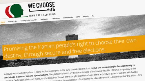 We Choose, la alternativa virtual a las elecciones en Irán