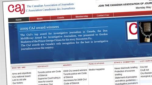 Periodista ciudadano recibe un premio de la Asociación Canadiense de Periodistas
