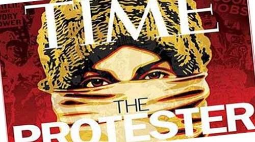 The Protester #Arabspring #15M #Egypt: protagonistas del año