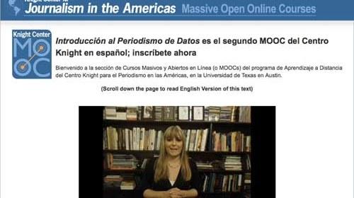 """""""Introducción al Periodismo de Datos"""": un curso gratuito en línea del Centro Knight"""
