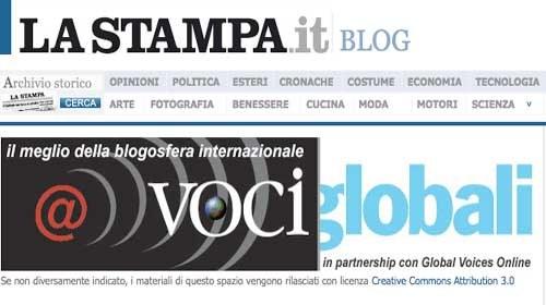 """""""Voci Globali"""": Medios tradicionales y ciudadanos en colaboración"""
