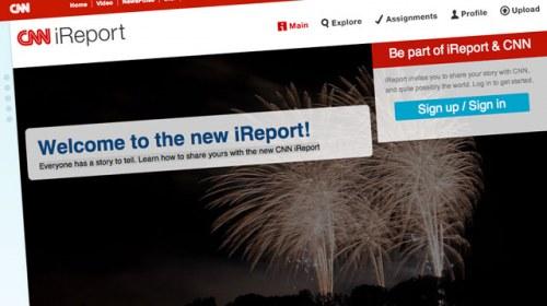 CNN relanza iReport como una red social de noticias