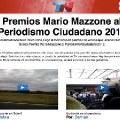Premios Mario Mazzone al Periodismo Ciudadano 2012