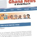 Ghana News and World Report: Periodismo ciudadano desde Ghana