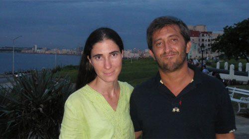César Calderón entrevista a Yoani Sánchez en La Habana