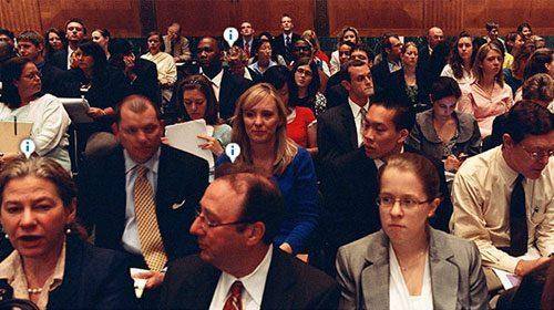 Crowdsourcing para identificar a los miembros de los lobbies en el Congreso de EE.UU.
