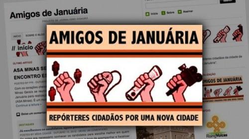 Amigos de Januária, un proyecto de periodismo ciudadano para el control de la política municipal