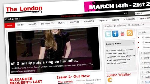 Help Me Investigate y el curioso caso de The London Weekly