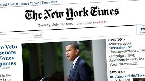The New York Times estudia buscar apoyo económico en las fundaciones