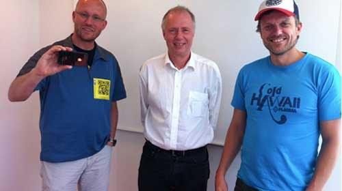Fútbol y periodismo ciudadano para cubrir la Eurocopa Sub-21