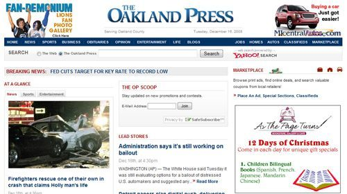The Oakland Press formará periodistas ciudadanos