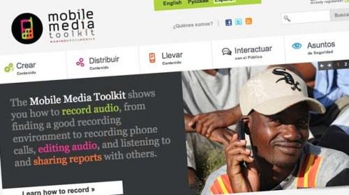Mobile Media Toolkit: crear, geolocalizar y distribuir contenido móvil