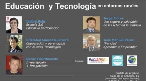 """Iniciador Cantabria: """"Educación y Tecnologías en Entornos Rurales"""""""