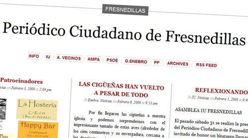 Organizaciones locales sociales y políticas editan un Periódico Ciudadano en Fresnedillas de la Oliva