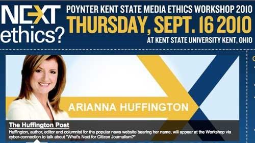 La Ética de los Medios a debate con Arianna Huffington, Paul Steiger y Adrian Holovaty