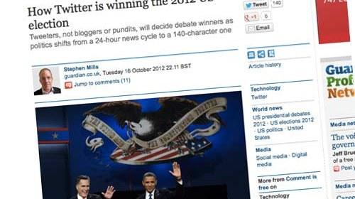 Twitter: la red social más importante en las elecciones presidenciales de los EE.UU