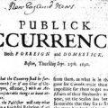 Periodismo participativo en el primer periódico publicado en la América colonial