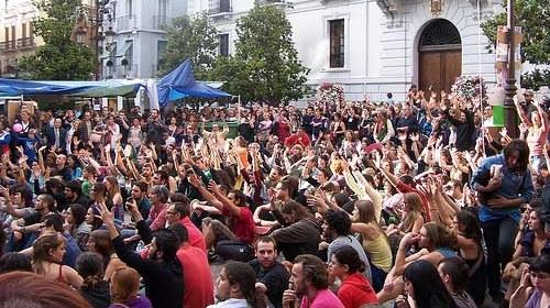 #15M #AcampadaGranada: Comunicado de Prensa 26/05/11