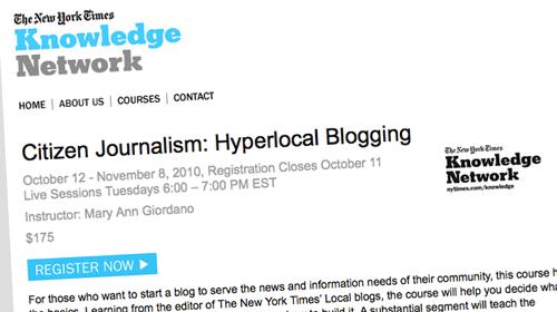 El New York Times ofrece un curso online de periodismo ciudadano