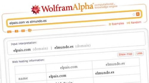 Wolfram Alpha, la búsqueda inteligente de datos
